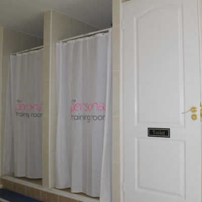 Ladies showers